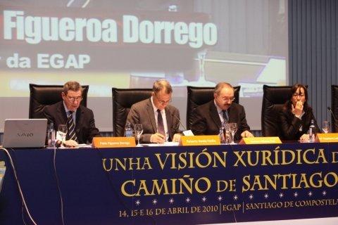 Imaxes - Congreso sobre Unha Visión Xuridica do Camiño de Santiago